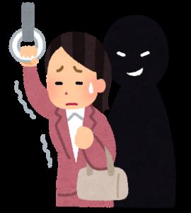 Chikan o abuso en trenes