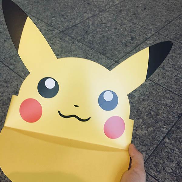Visera de Pikachu